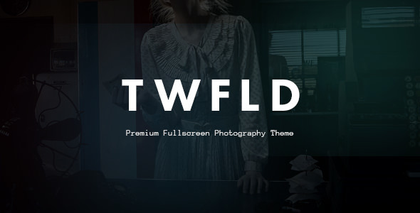 TwoFold Photography (WordPress theme for photographers) Item Picture