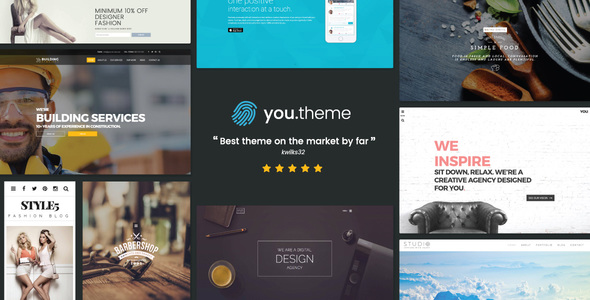 You Multi-Purpose Responsive WordPress Theme (stunning WordPress theme) Item Picture