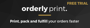 OrderlyPrint - Order processing supercharged shopify apps for creating invoices receipts shipping labels packing slips
