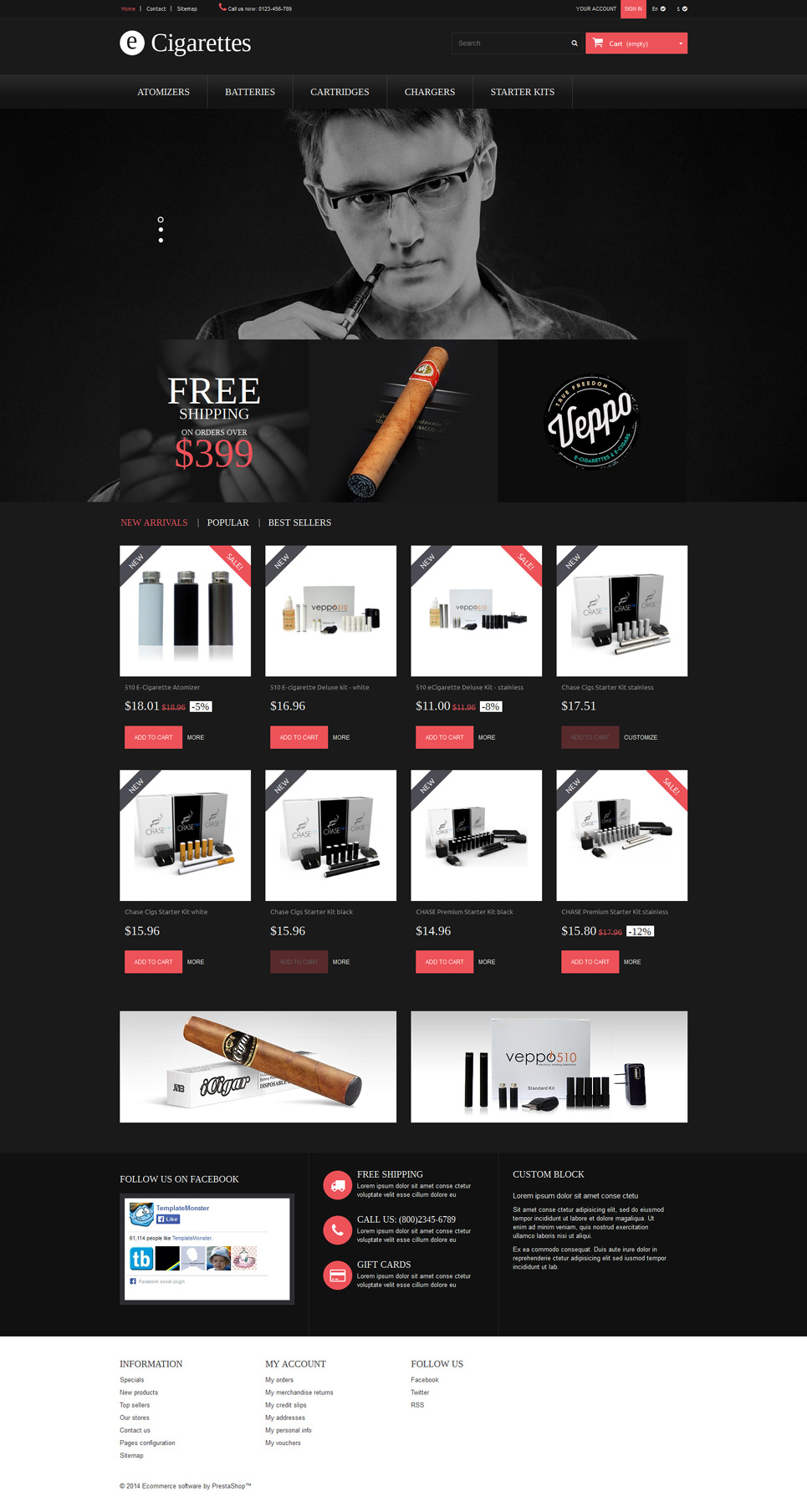 Smoke City (online store template) Item Picture