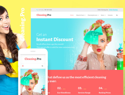 8+ Best Shiny New Maid Services & Home Cleaning WordPress Themes