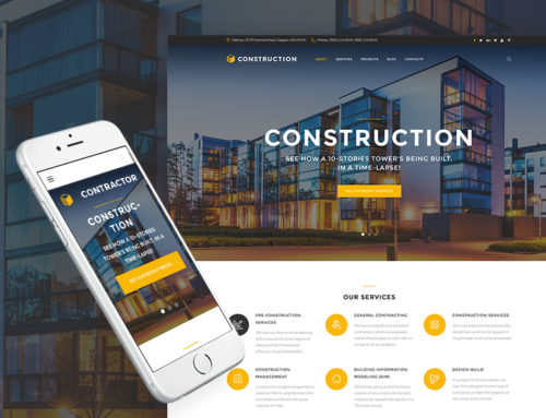 These Contractor & Construction Industry WordPress Themes Make the Perfect Foundation for your Business
