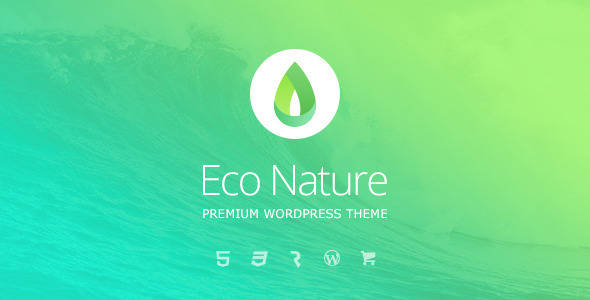 Eco Nature (WordPress theme) Item Picture