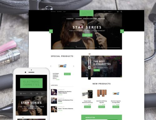 10 Absolute Best Vape Store Ecommerce Website Themes