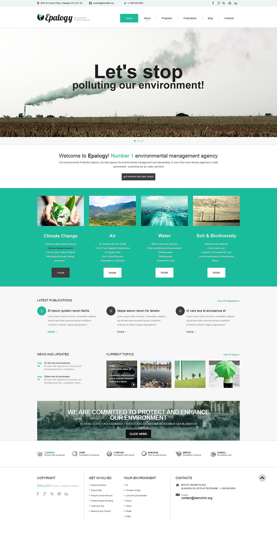 Epalogy (WordPress theme) Item Picture