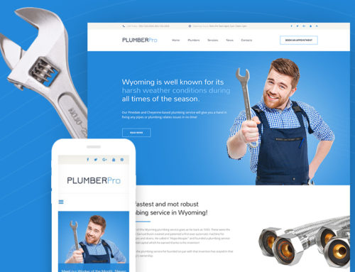 Fix Your Plumbing Business with a Great New WordPress Theme for Plumbers