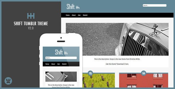 Shift (Tumblr theme) Item Picture