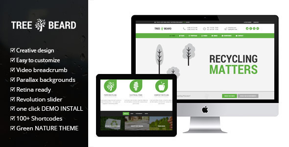 TreeBeard (WordPress theme) Item Picture