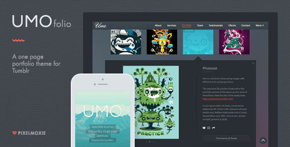 UMO Folio (Tumblr theme) Item Picture