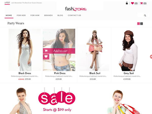 Fash Store (WordPress theme for clothing or fashion stores) Item Picture