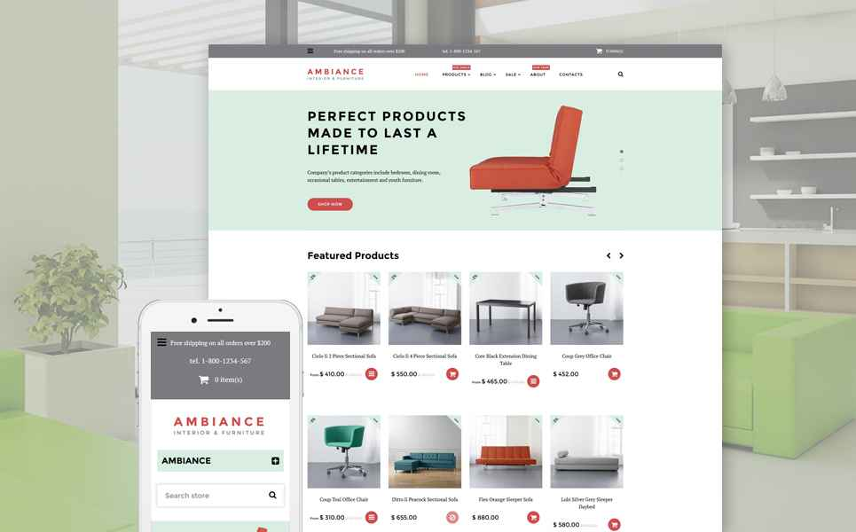 Ambiance (theme for Shopify) Item Picture
