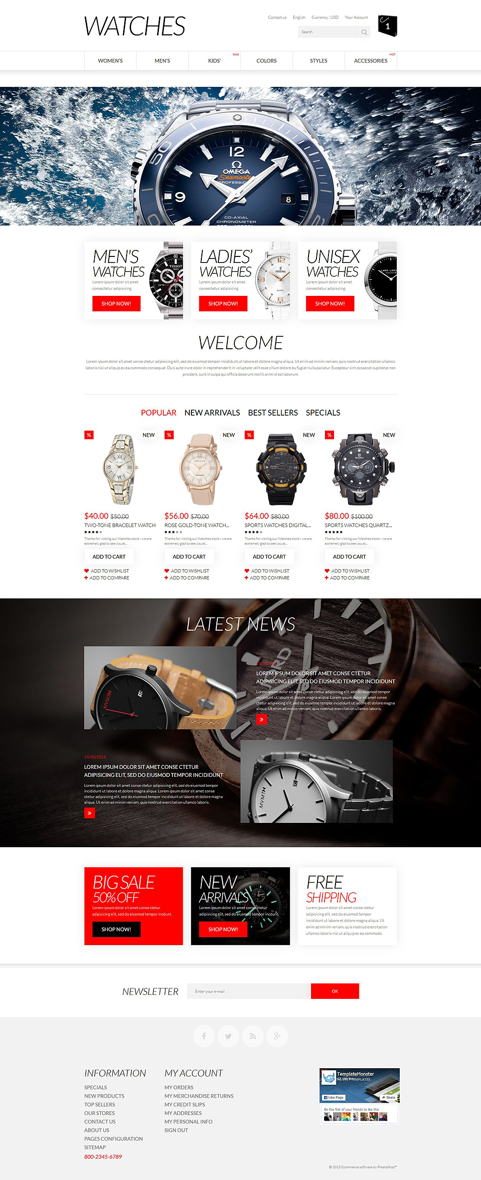 Apparel (ecommerce theme for PrestaShop) Item Picture