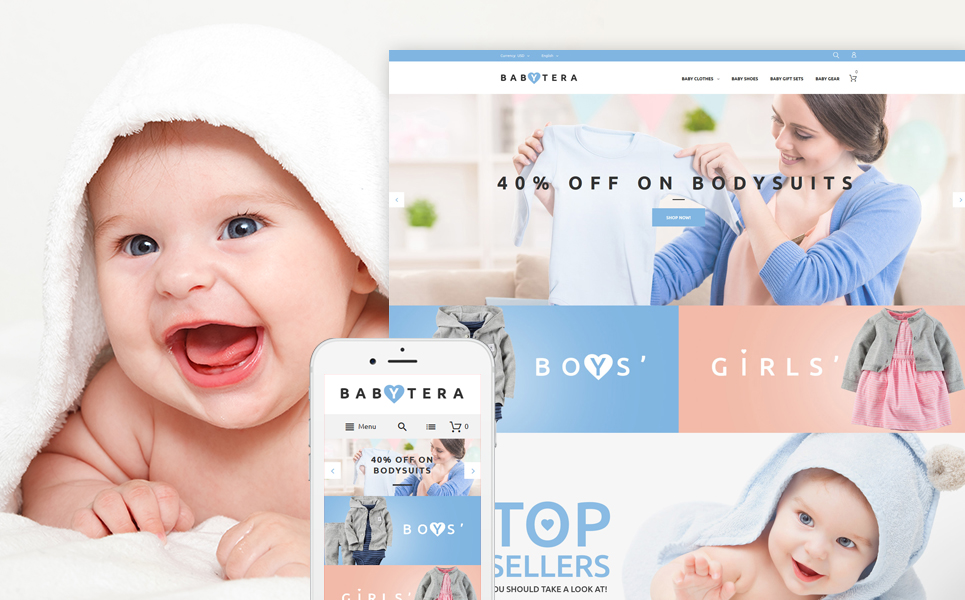 Babytera (theme for Magento ) Item Picture
