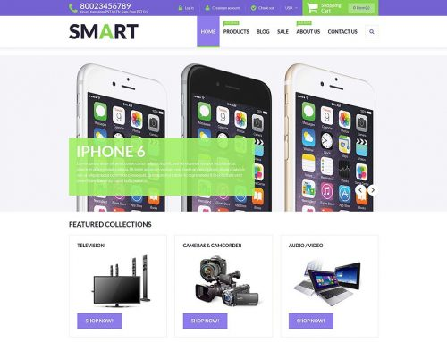 14+ SHOCKING! Electronics Store Shopify Themes! No. 3 WILL Make Your EYES EXPLODE!