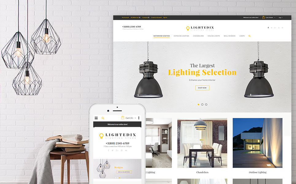 Lightedix (theme for Magento ) Item Picture