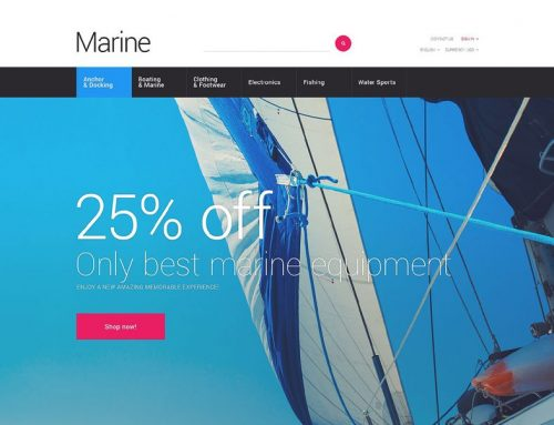 Schooner or Later You'll Be Shore to Fall in Love with these Marine & Boating PrestaShop Themes