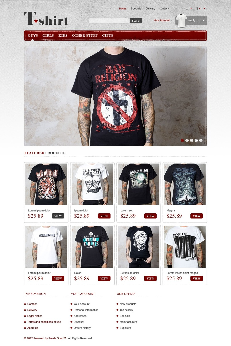Star T-Shirts Store
