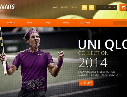 9+ Tennis Apparel and Equipment Ecommerce Website Templates (Tennis PrestaShop Themes)