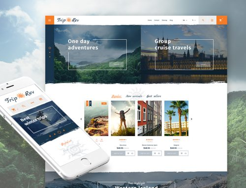 13+ Awesome Travel Agents & Travel Gear Ecommerce Shop Templates (Travel PrestaShop Themes)