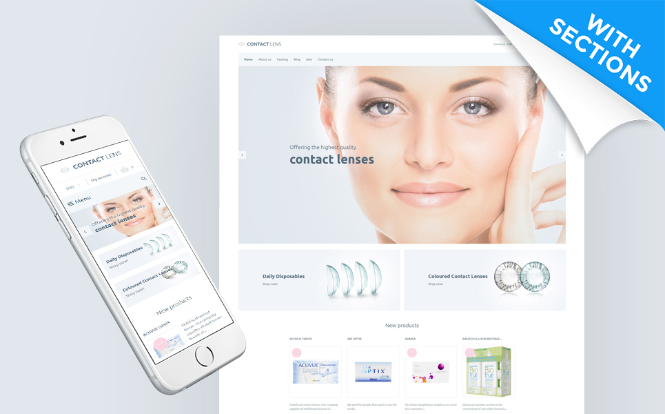 Contact Lens (Shopify theme) Item Picture