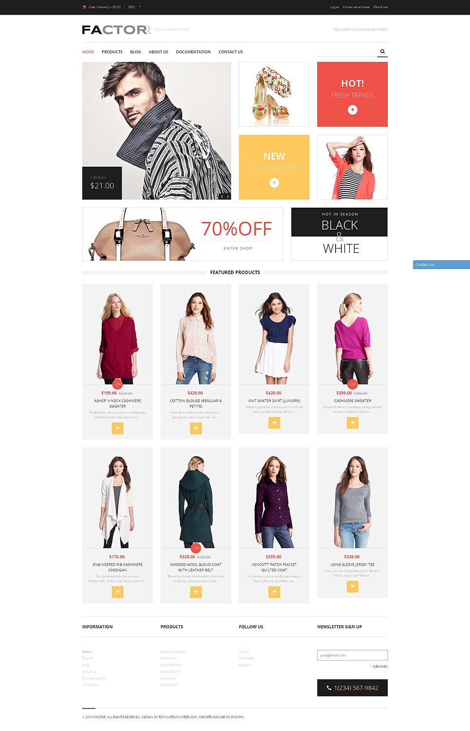 Fashion Store (Shopify theme) Item Picture