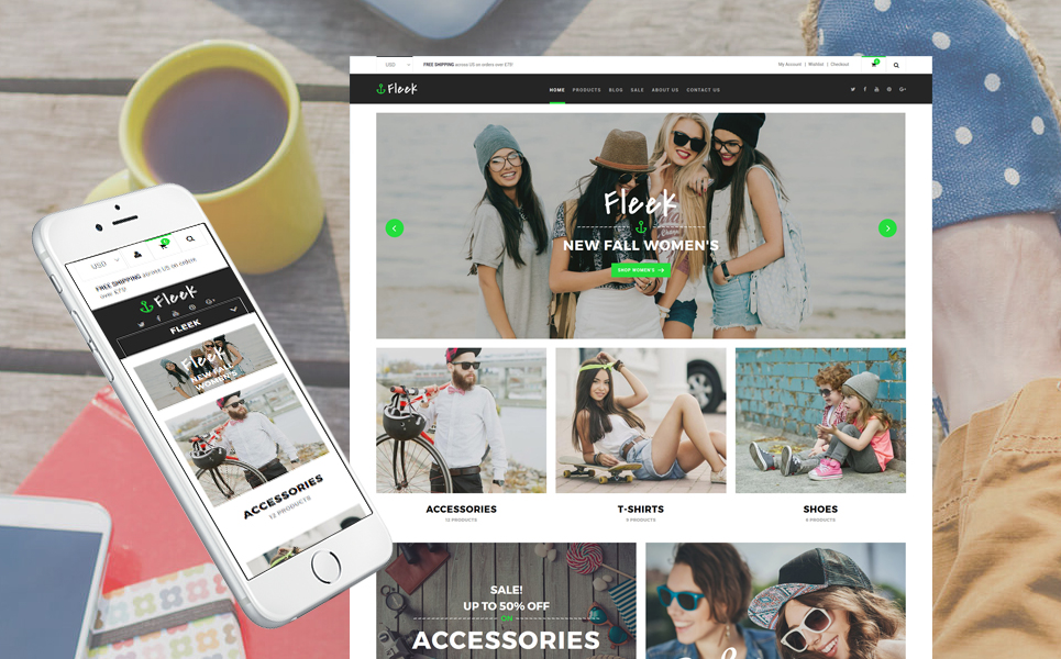 Fleek (ecommerce Shopify theme) Item Picture