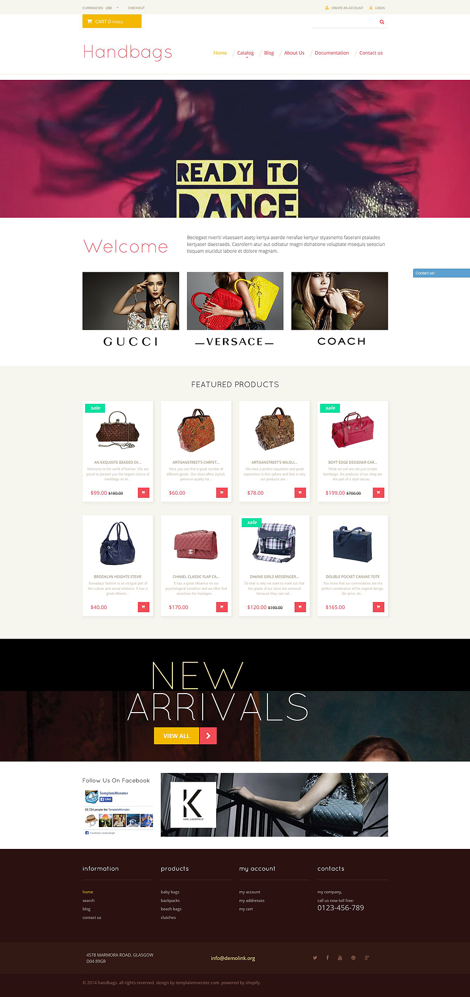 Handbag Store (theme for Shopify) Item Picture
