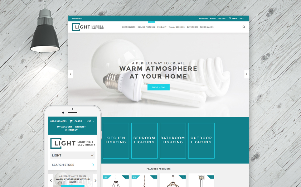 Light Store (website theme) Item Picture