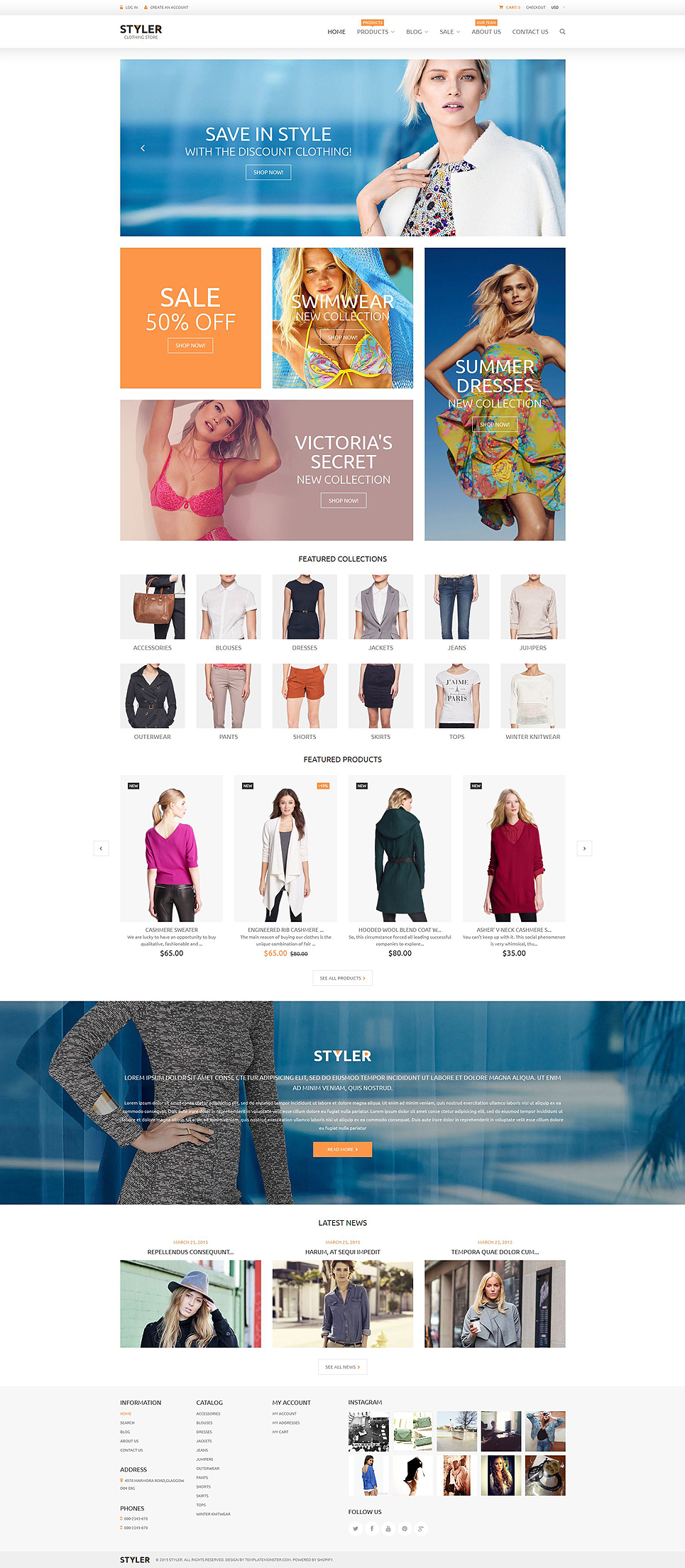 Original Clothing Shop (theme for Shopify) Item Picture