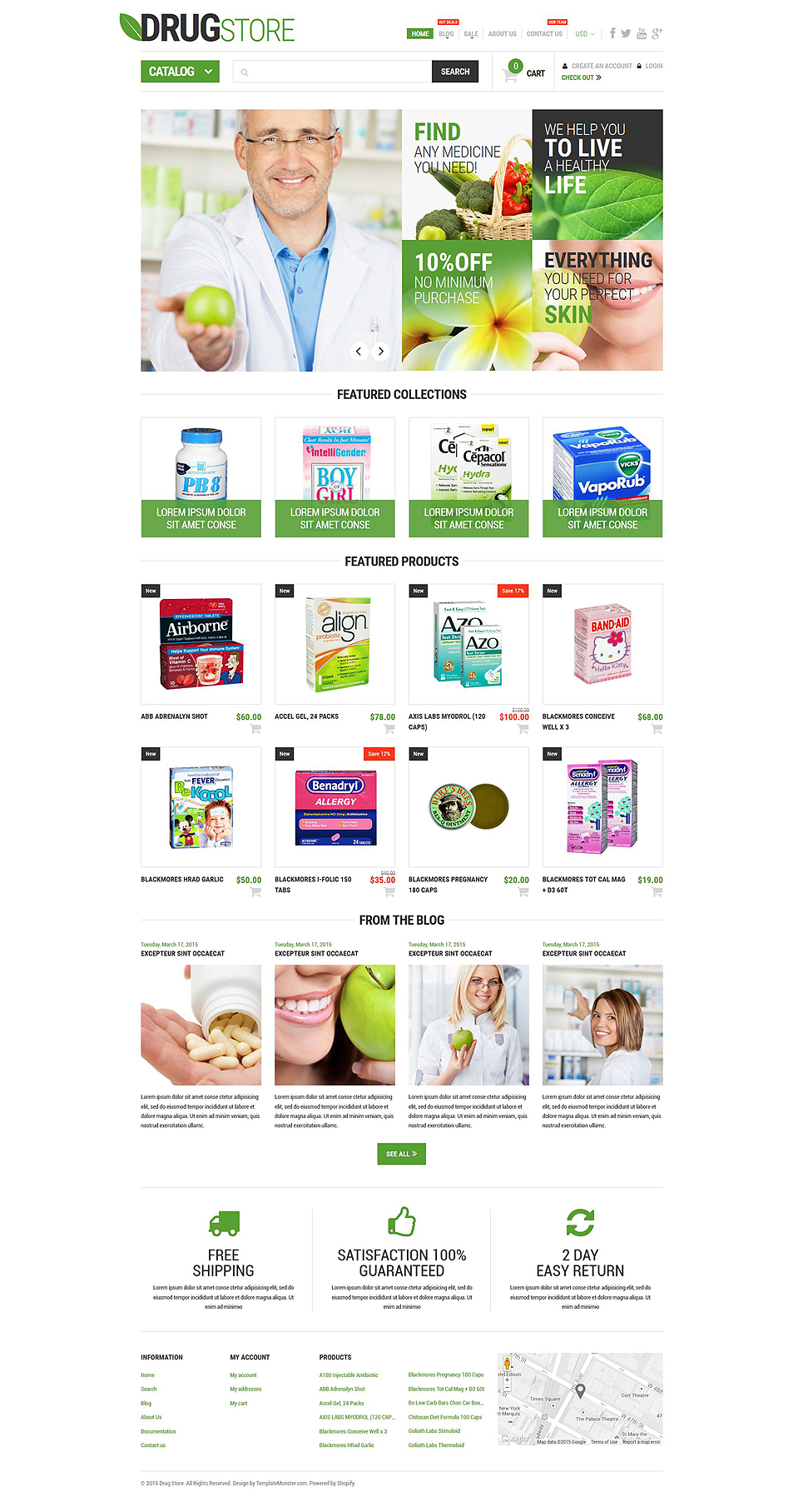 Pharma (Shopify ecommerce theme) Item Picture
