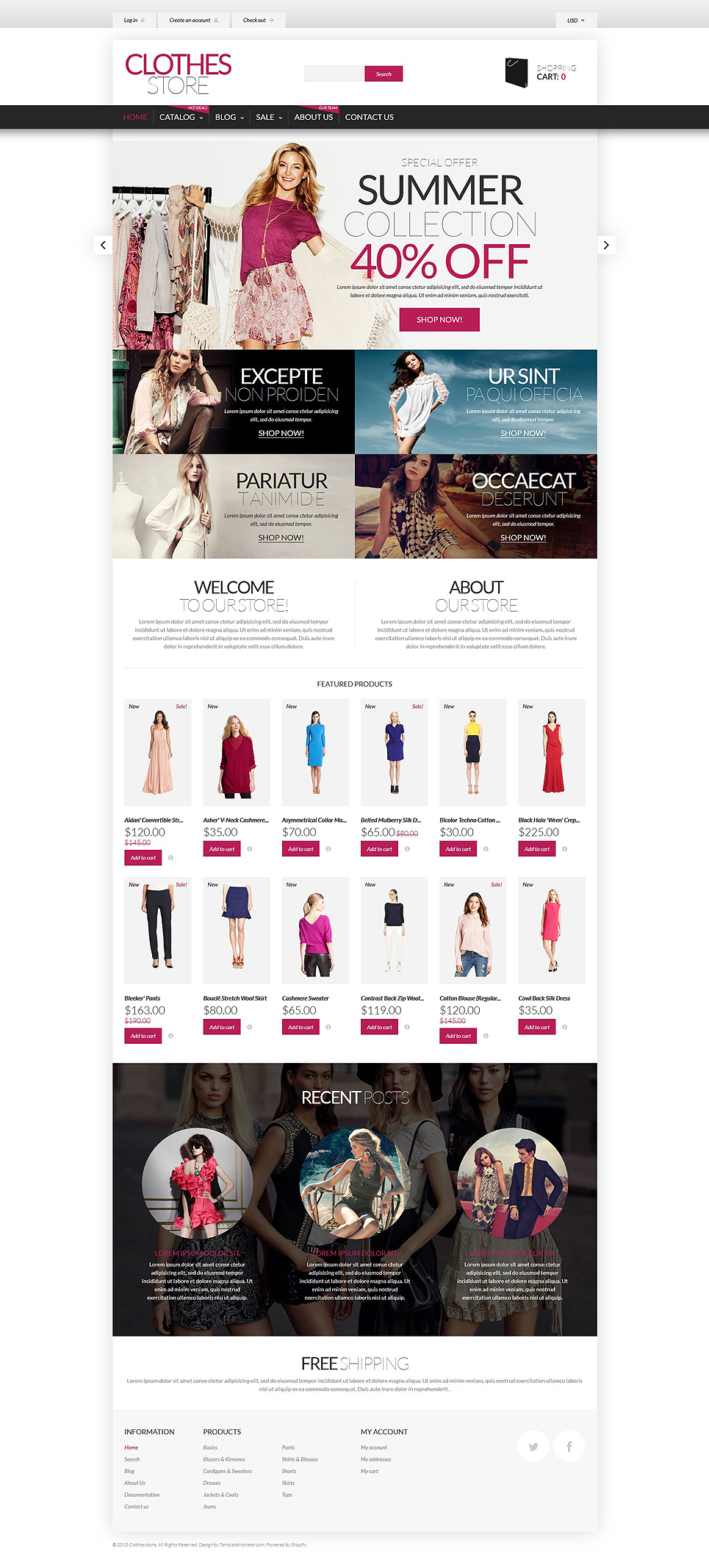 Shopping in Style (ecommerce Shopify theme) Item Picture