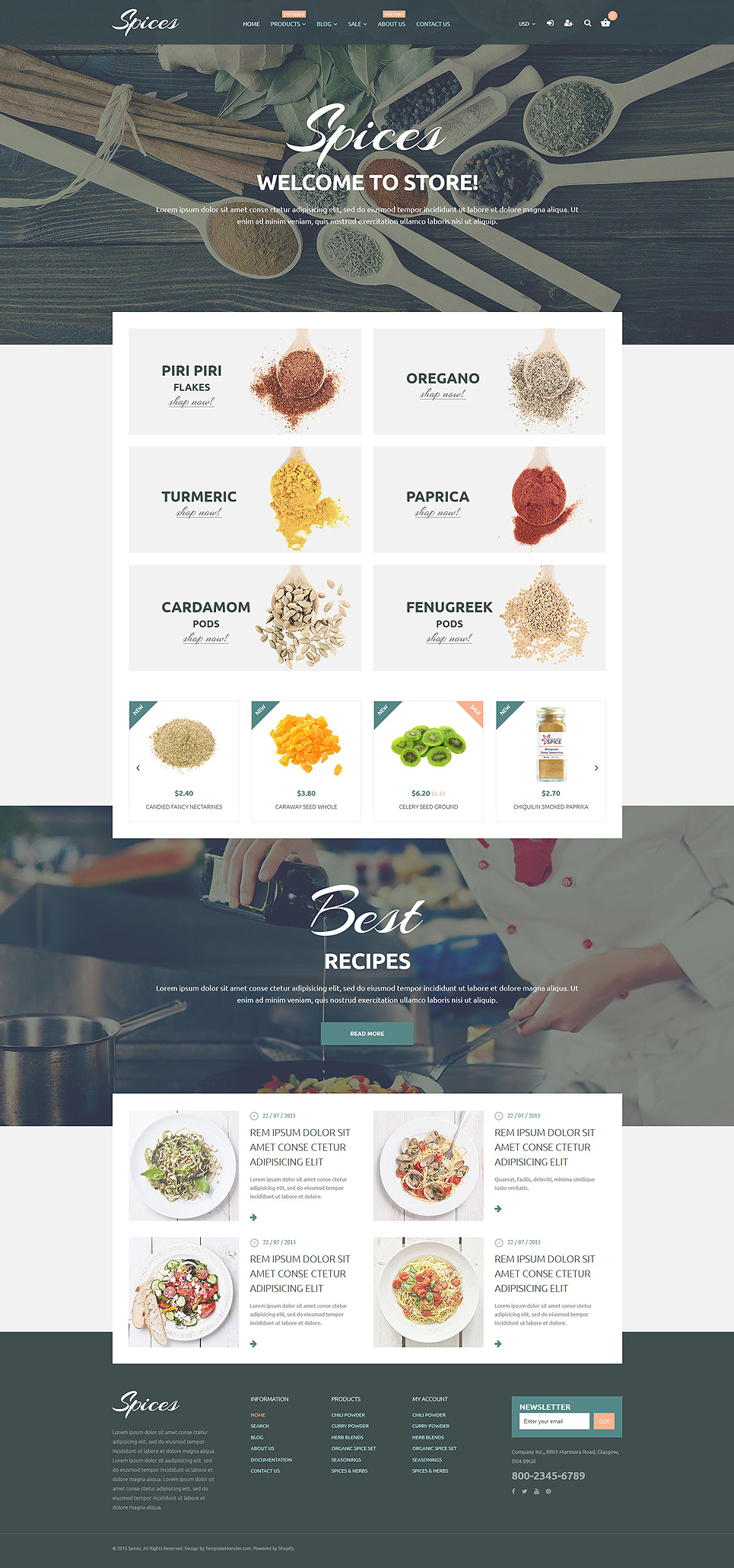 Spice Of Life (Shopify theme) Item Picture