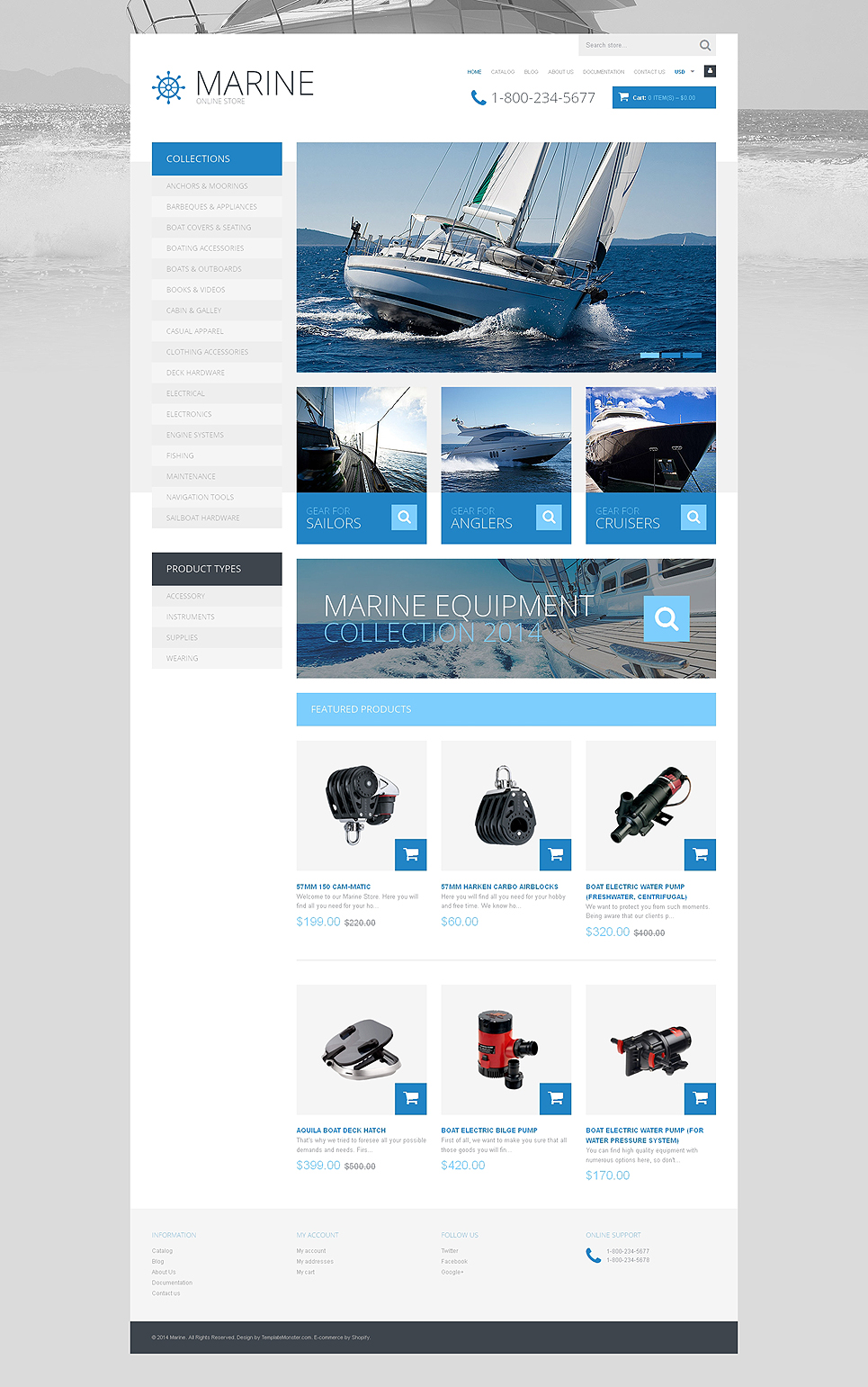 Yachting to Victory (Shopify theme) Item Picture