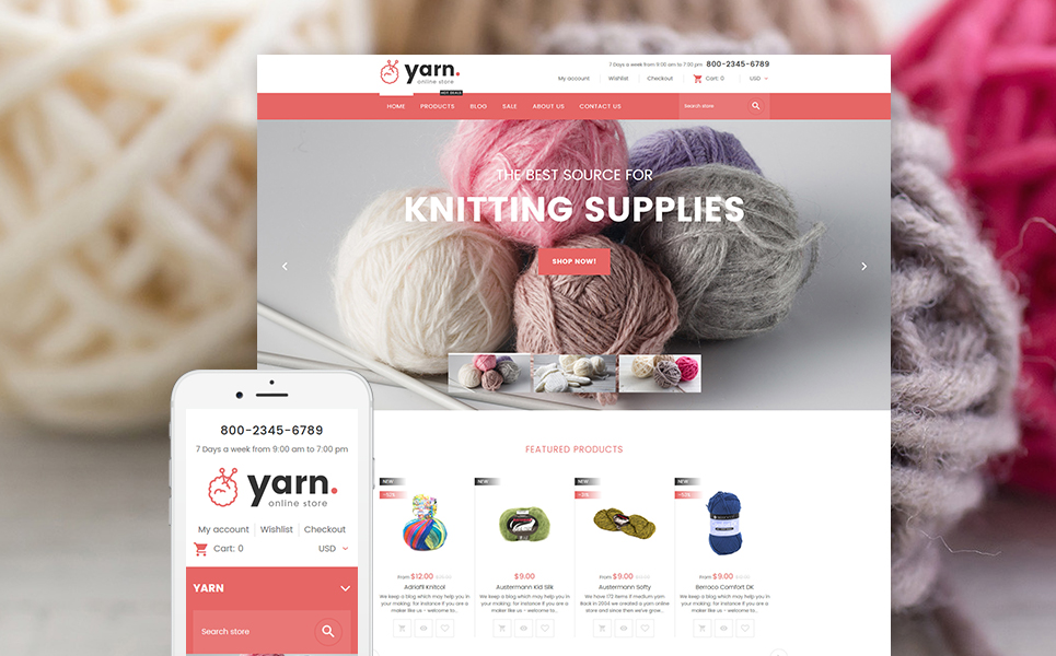 Yarn (ecommerce theme) Item Picture