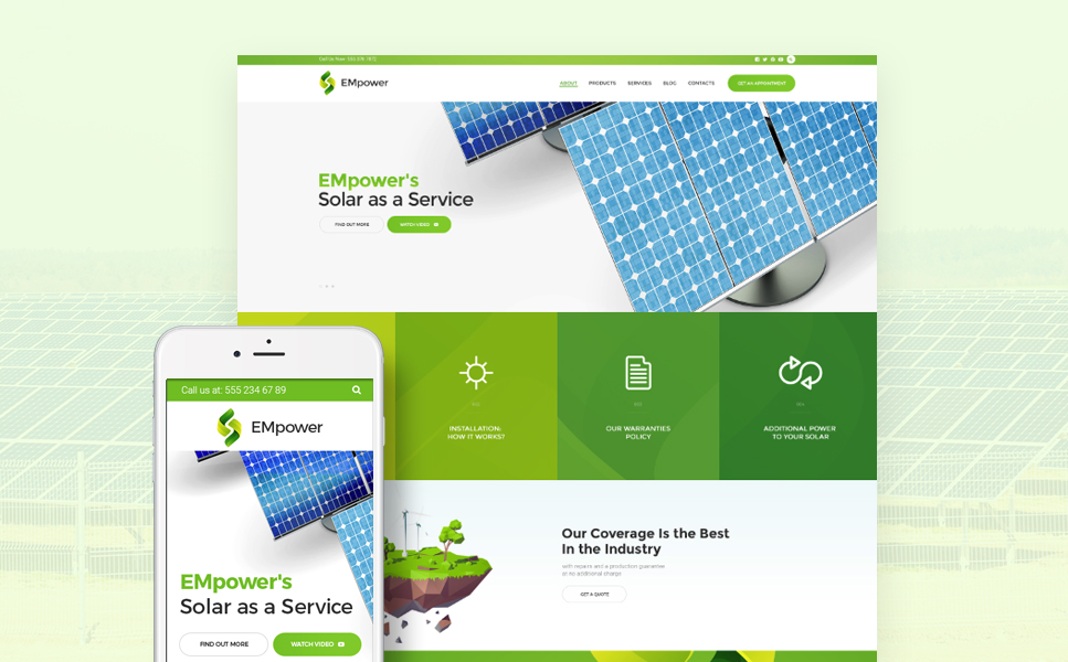 EMpower (WordPress template) Item Picture