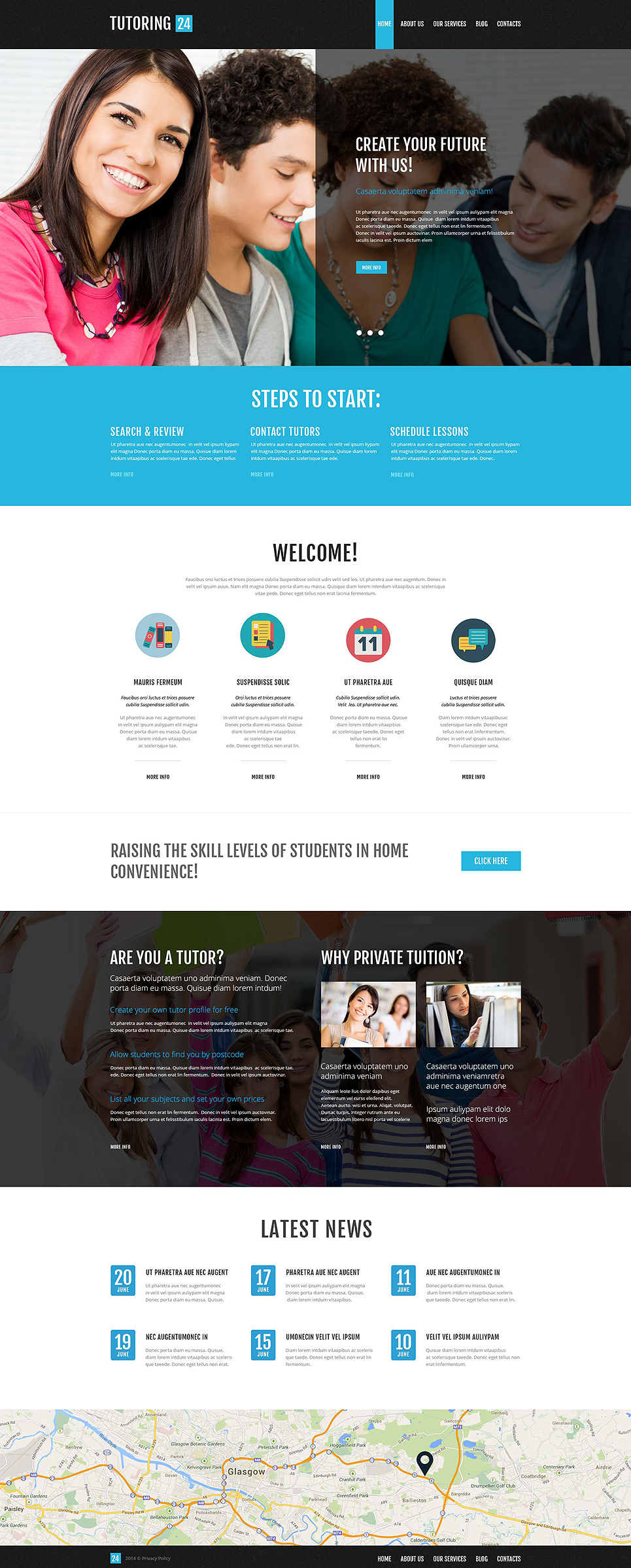 Education Online (WordPress template) Item Picture