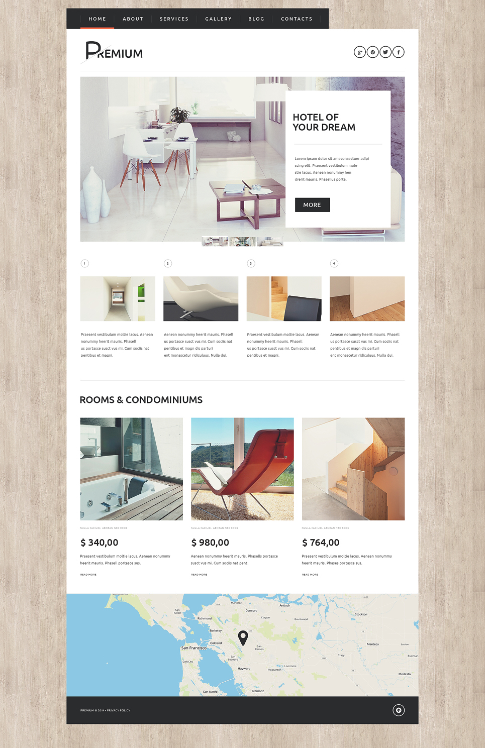 Hotels Booking Agency (theme for your WordPress site) Item Picture