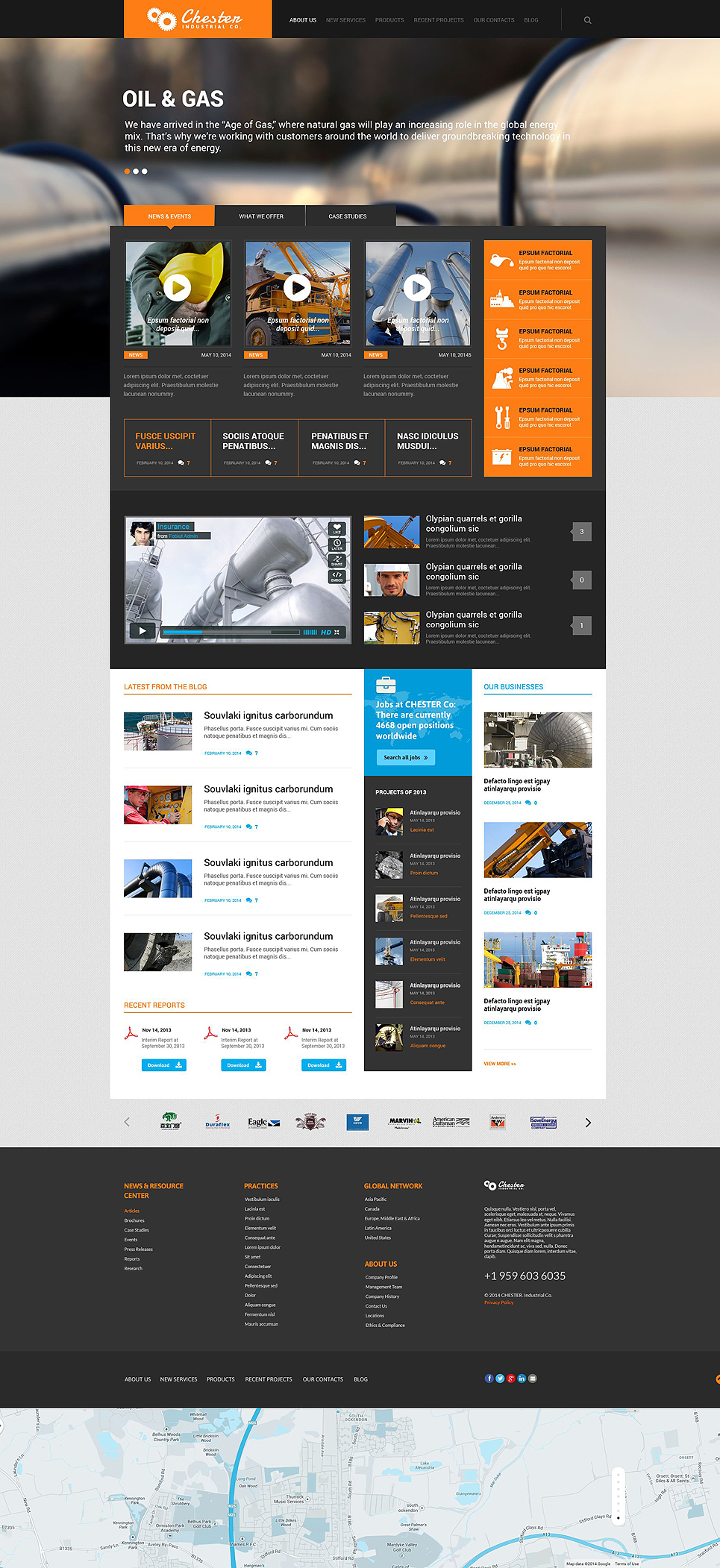 Industrial Company (website theme) Item Picture