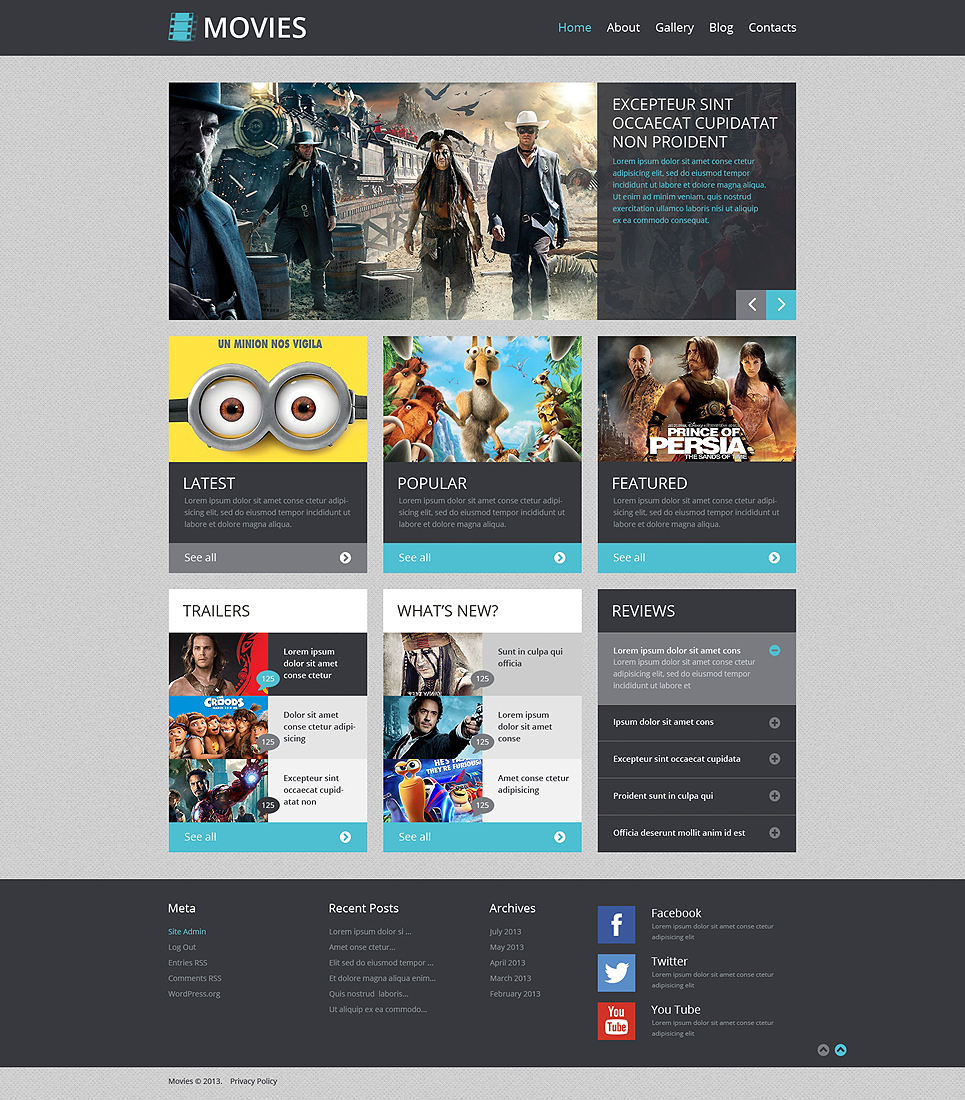 Movie News (WordPress template) Item Picture