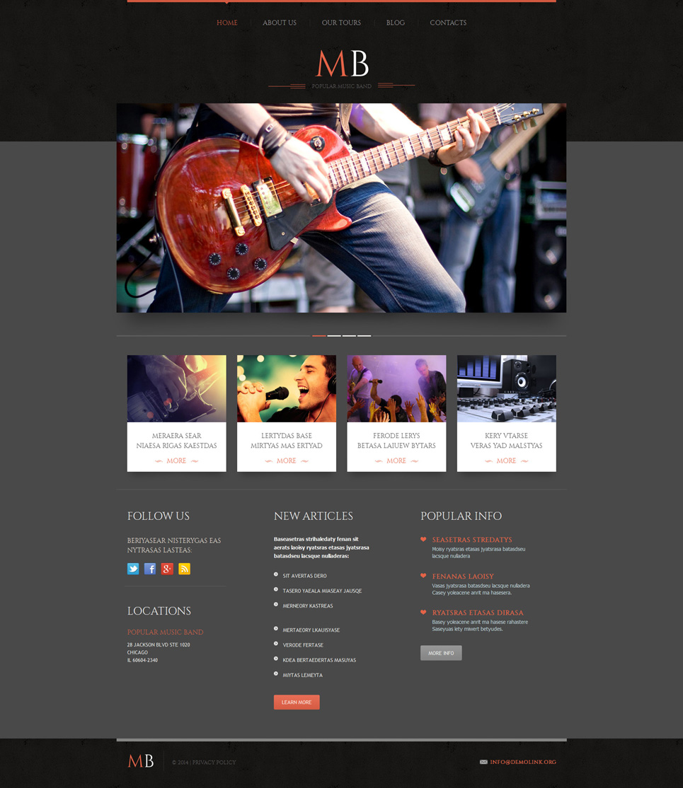 Band (website theme) Item Picture