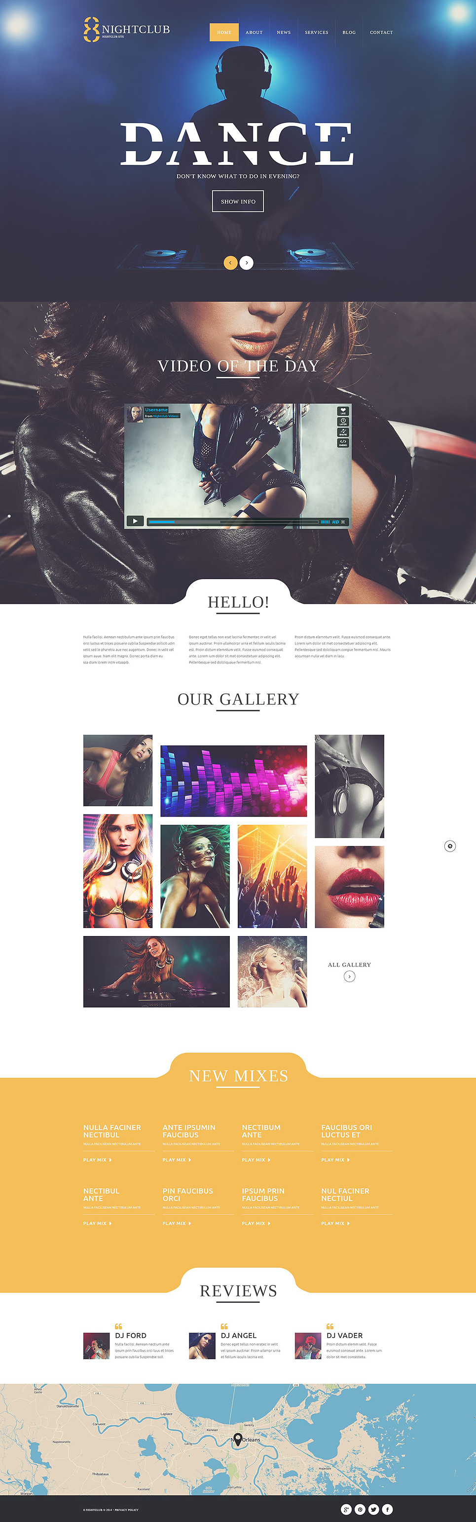 NightLife (website theme) Item Picture