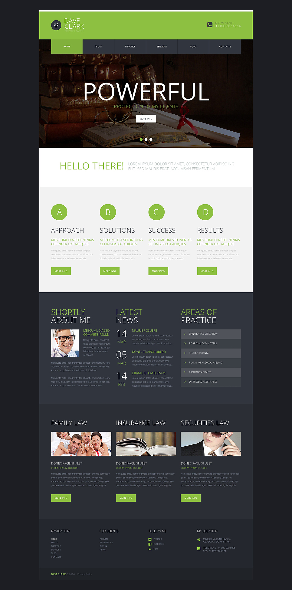Private Lawyer (website theme) Item Picture