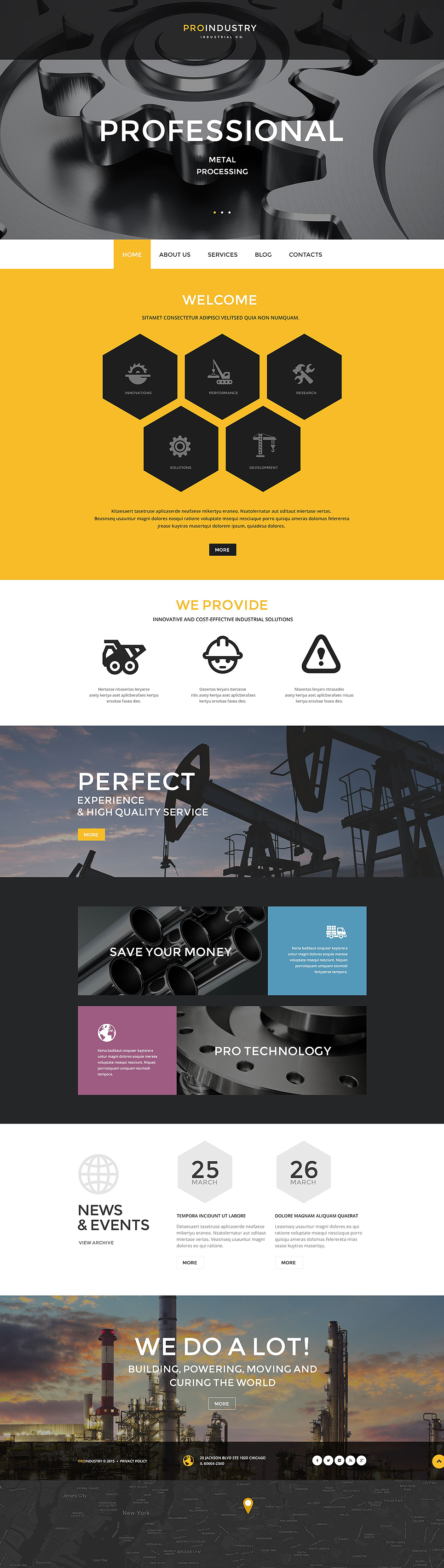 ProIndustry (theme for WordPress) Item Picture
