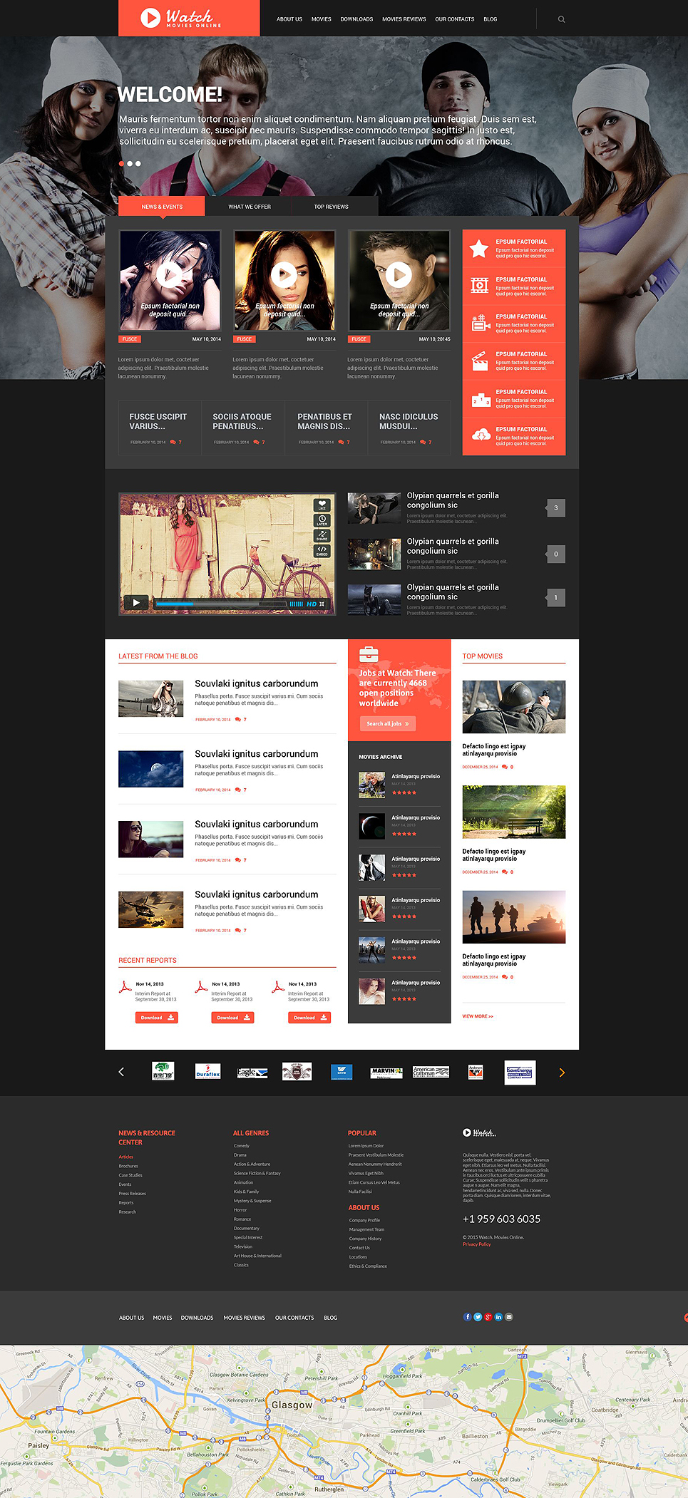 Watch (WordPress template) Item Picture