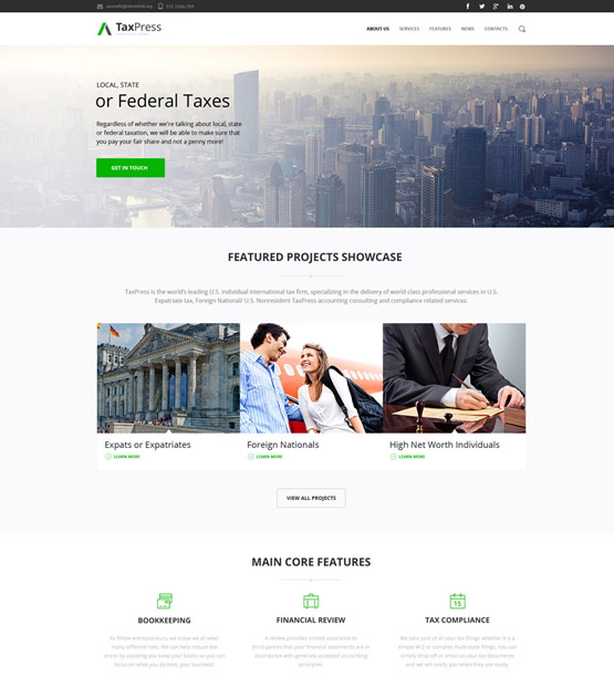 financial drupal themes finance websites