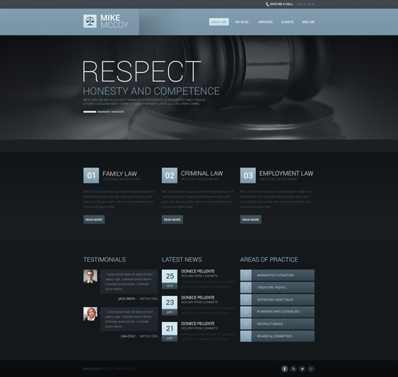 drupal themes lawyers attorneys law firms