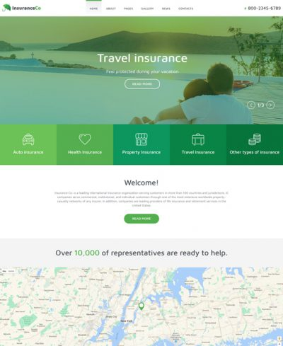 best car insurance joomla templates feature