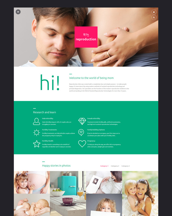 medical joomla templates