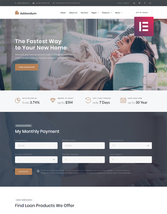 WordPress Themes For Loan And Mortgage Companies