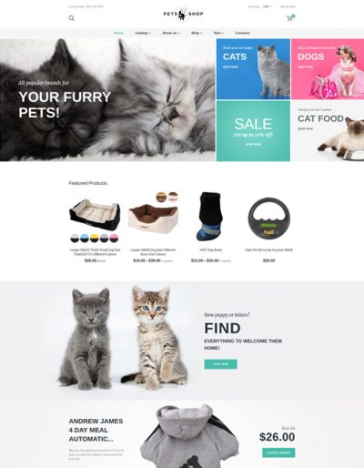 best shopify themes for pet stores feature